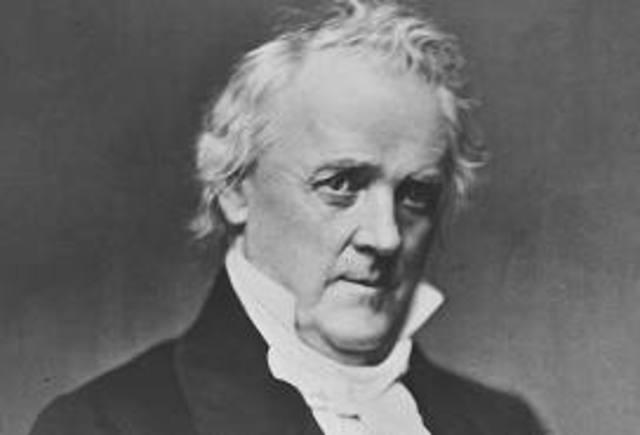 1856 James Buchanan