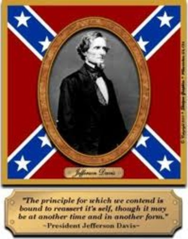 Jefferson Davis President Of the Confederacy