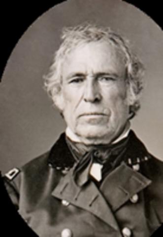 1849 President Taylor