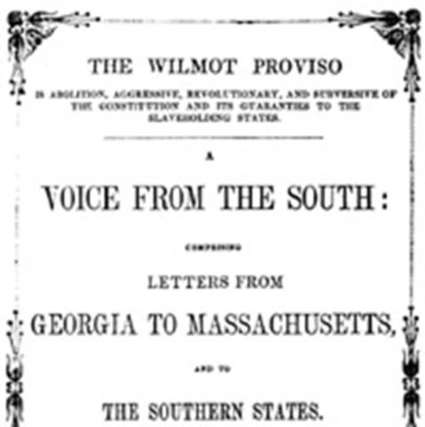 1846 Wilmont Proviso