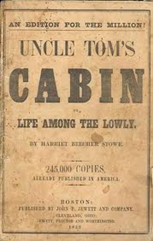 1852 Uncle Tom's Cabin