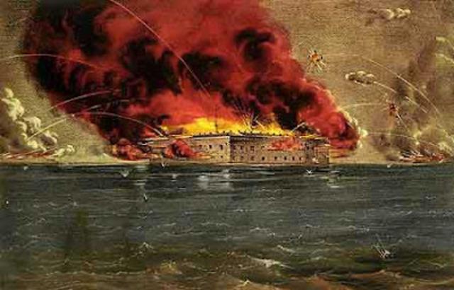 April 12, 1861 Fort Sumter