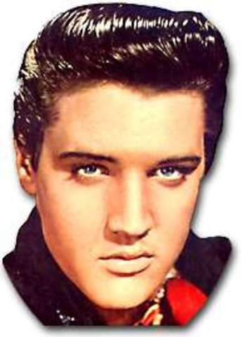 Elvis Presley, (King of Rock & Roll)