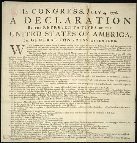 Declaration of Independent