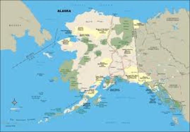 Alexander sells Alaska to the U.S.