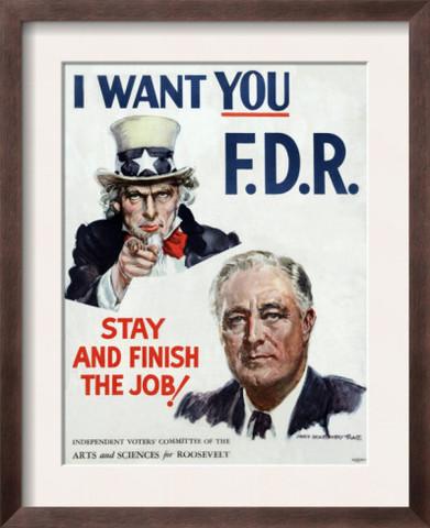Franklin Roosevelt Wins Fourth Election