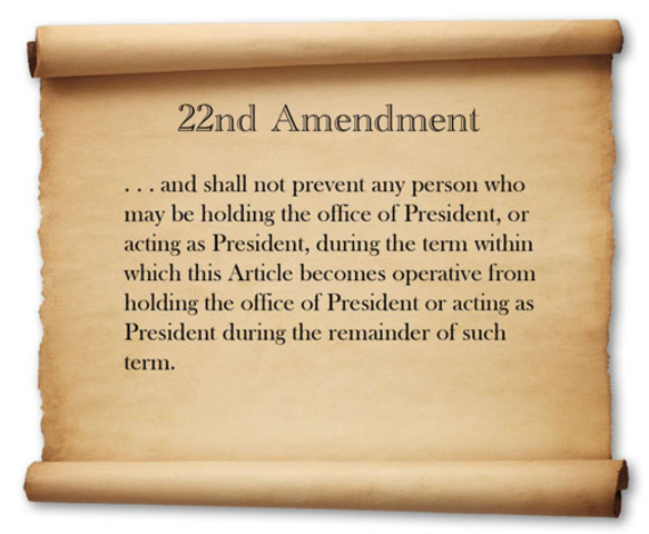 The 22nd Amendment is Passed