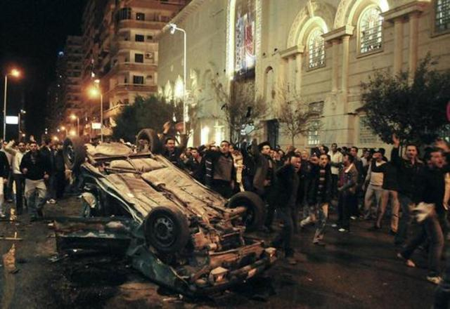 Egypt: 21 die in bombing of coptic church