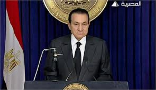 Egypt: Mubarak says he will step down- but not yet