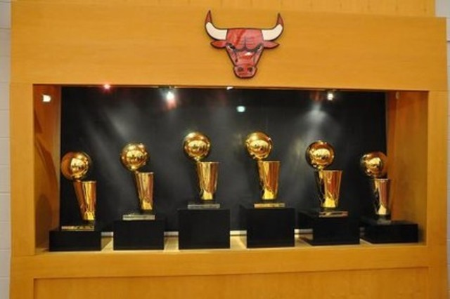 All Of Them Are Won With The Michael Jordan Chicago Bulls Trying To Win Another Championship