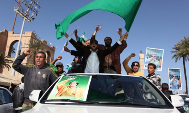 Libya's day of rage met by bullets and loyalists