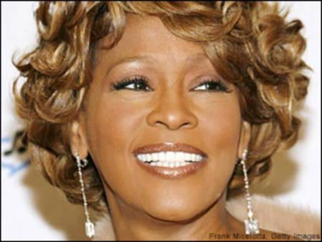 Murió Whitney Houston