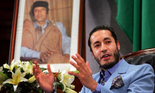 Gaddafi's son Saadi 'has arrived in Niger'