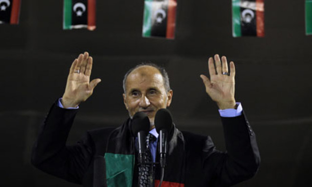 Libya's new leader calls for unity and moderation