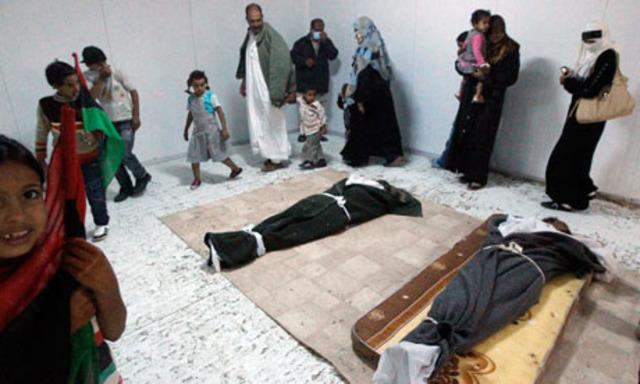Gaddafi buried in secret desert location