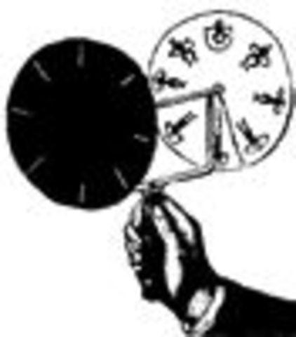 O Josef Plateau φτιάχνει το φενακιτοσκοποιο