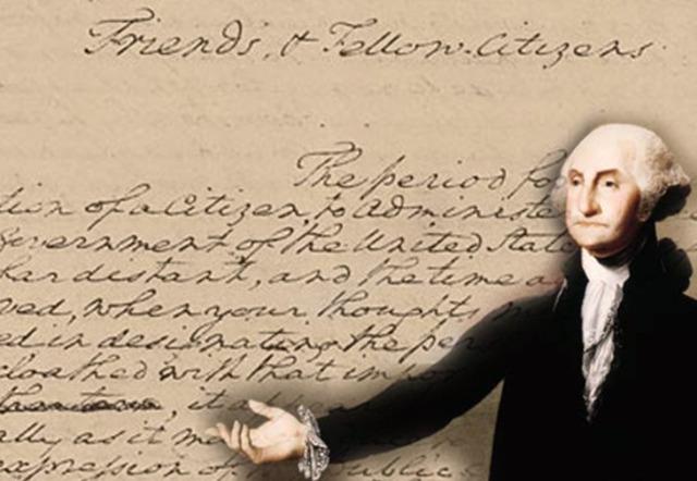 George Washington retires