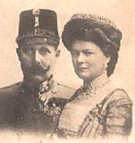 Archduke Franz Ferdinand and wife assassinated in Sarajevo