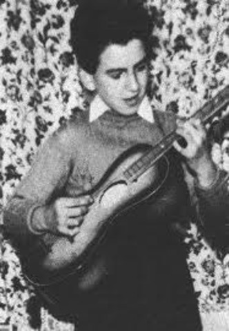 George Harrison gets His first Guitar.