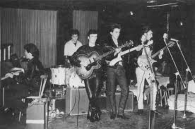 The Beatles first gig in Hamburg Germany