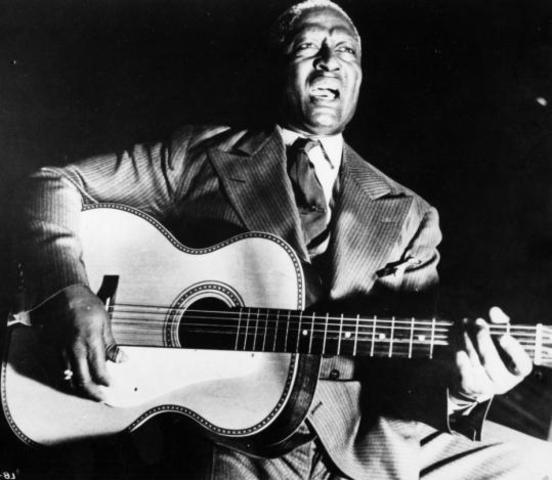 Lead Belly is Signed