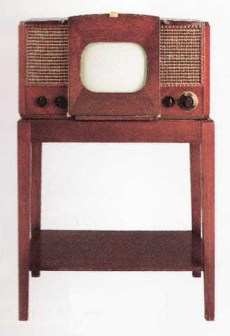 RCA's First Postwar Designed Television
