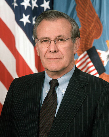 Rumsfield devises plan to invade Iraq