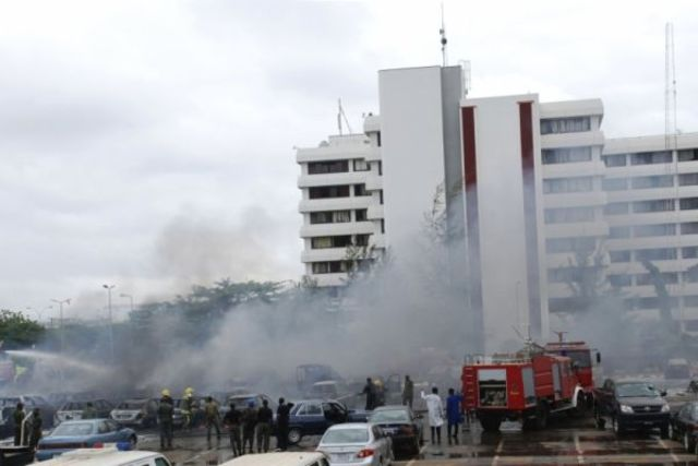 Nigeria's first suicide bomber attacks police station.