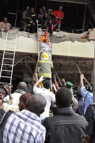 Bomb blast at U.N building