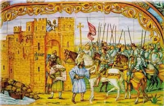 Muslims invade Spain