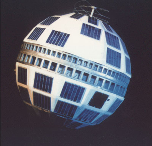 Telstar - First Satellite to Transmit Live Transoceanic Television