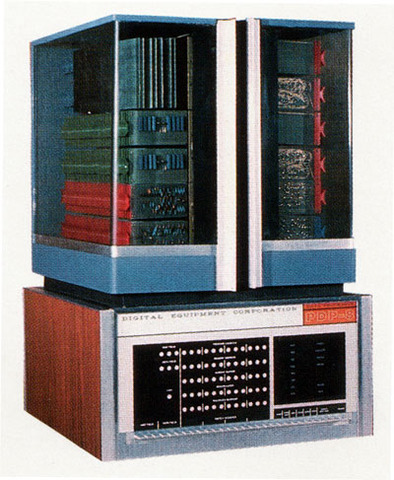 DEC PDP-8 Desktop-sized Minicomputer is Introduced