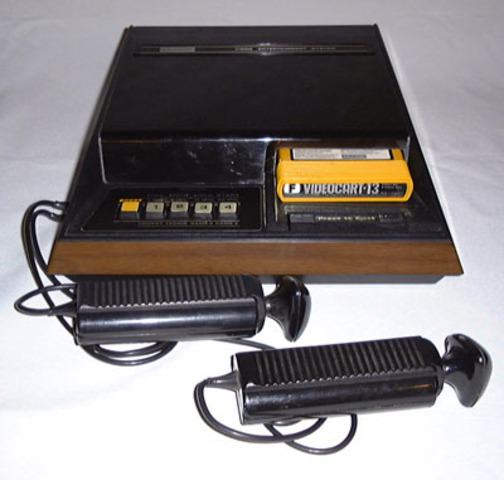 Fairchild Channel F - First ROM Cartridge Video Game System