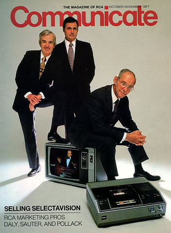 The First VHS VCR is Introduced in the U.S.