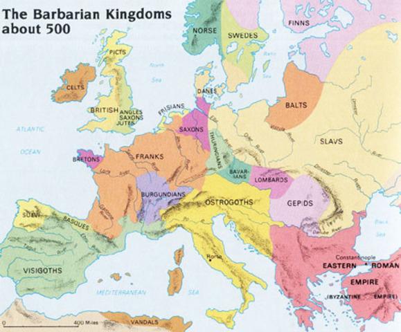 Barbarians Take Over Europe