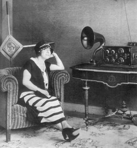 Εδραίωση του ραδιοφώνου