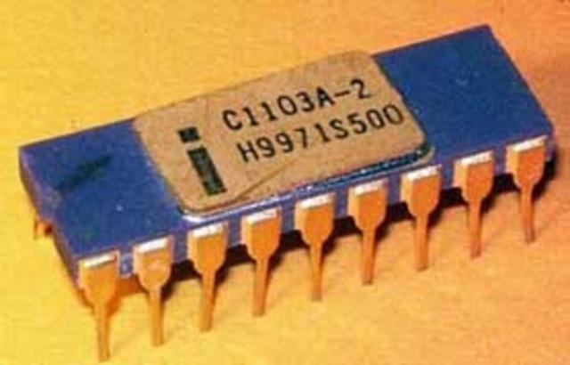 Intel 1103, Primera Memoria RAM