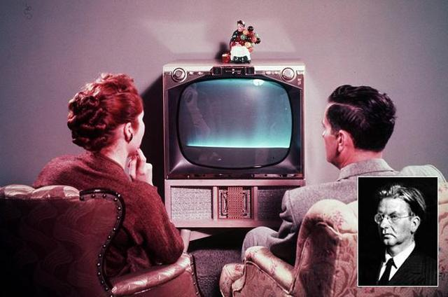 First public demonstration of T.V.