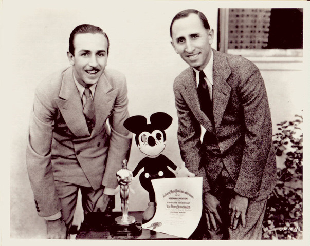 WALT DISNEY/first cartoon with a fully synchronized soundtrack