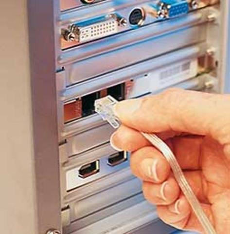 El primer servicio de internet Dial UP a nivel comercial