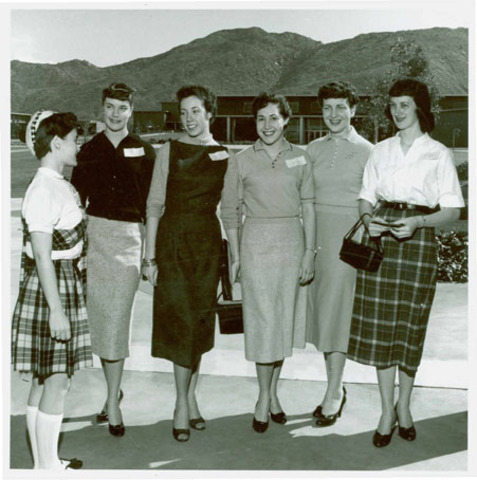 Women In College By 1950