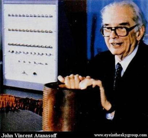 JOHN ATANASOFF/ The first automated digital computer.