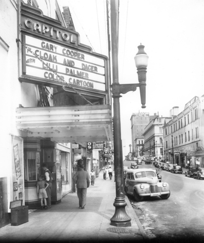 Going to the movies was quite popular during WWII
