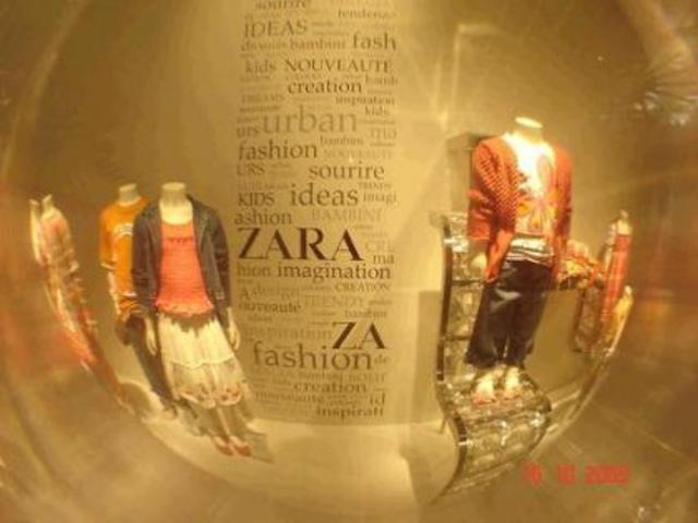 Zara 1.557 tiendas en el mundo
