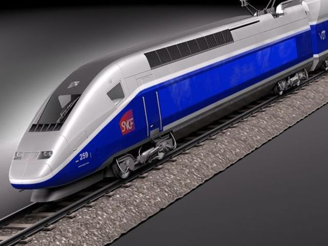 High-speed Trains.