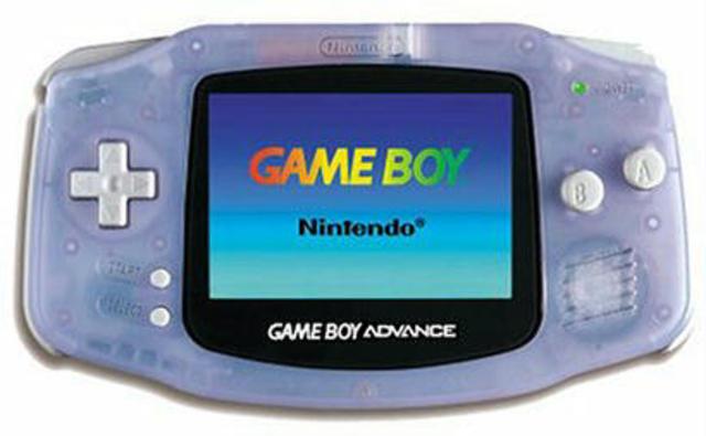 Nintendo Gameboy advanced
