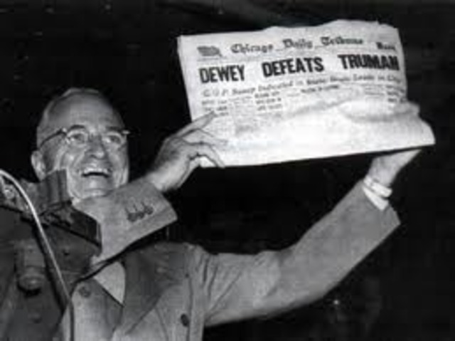 The Election of 1948 and Truman's Surprise Victory