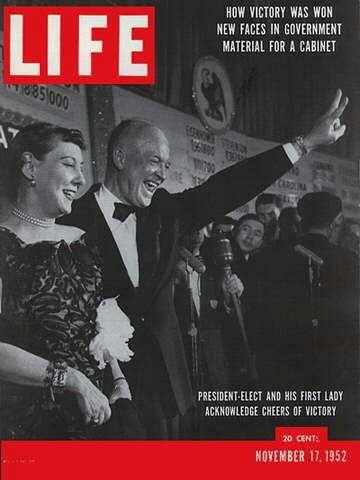 1952 - Republicans finally get the Presidency