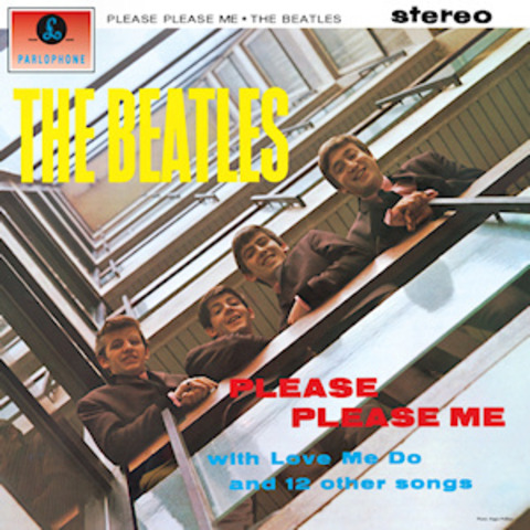 "The Beatles Release first album ""Please Please Me"""