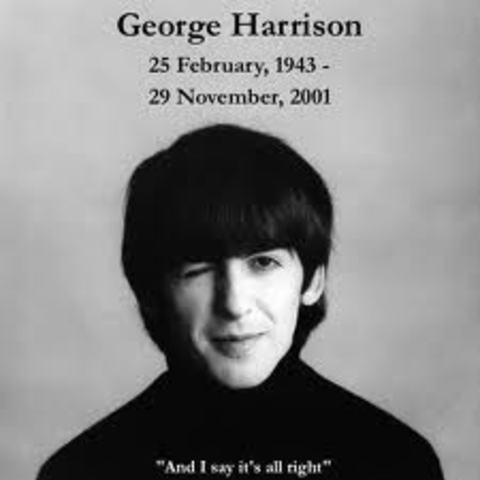 George Harrison Dies!